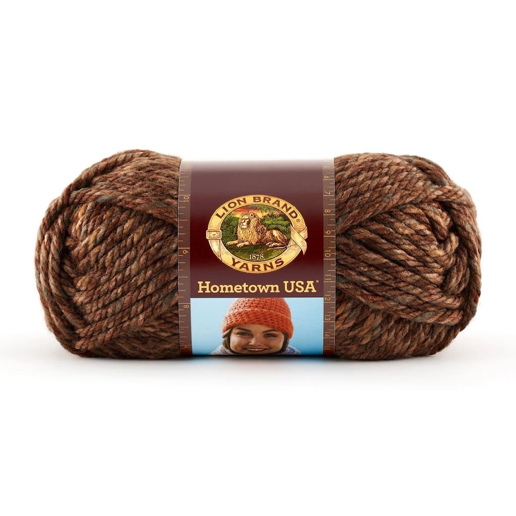 Lion brand Hometown USA Yarn  Sioux City Tweed 4  oz