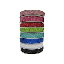 038 woven glitter ribbon value pack by celebrate it