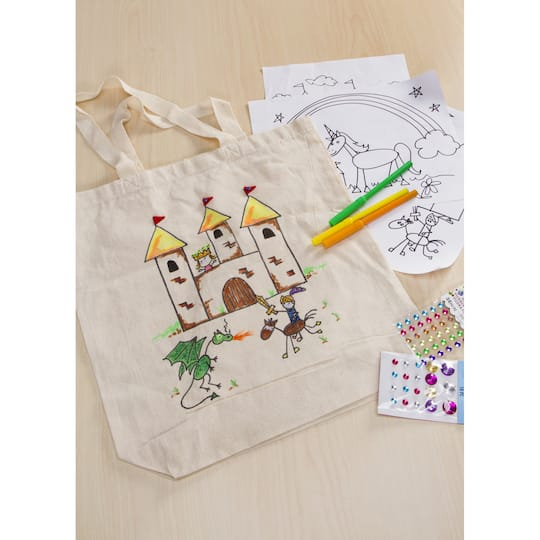 Blank Canvas Tote Bags Plain Natural