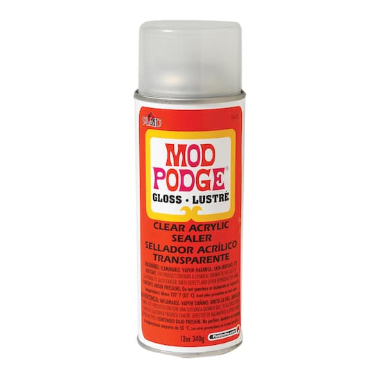 Mod Podge® Clear Acrylic Sealer, Gloss
