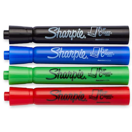 Shop for the sharpie flip chart markers assorted 6 packs at