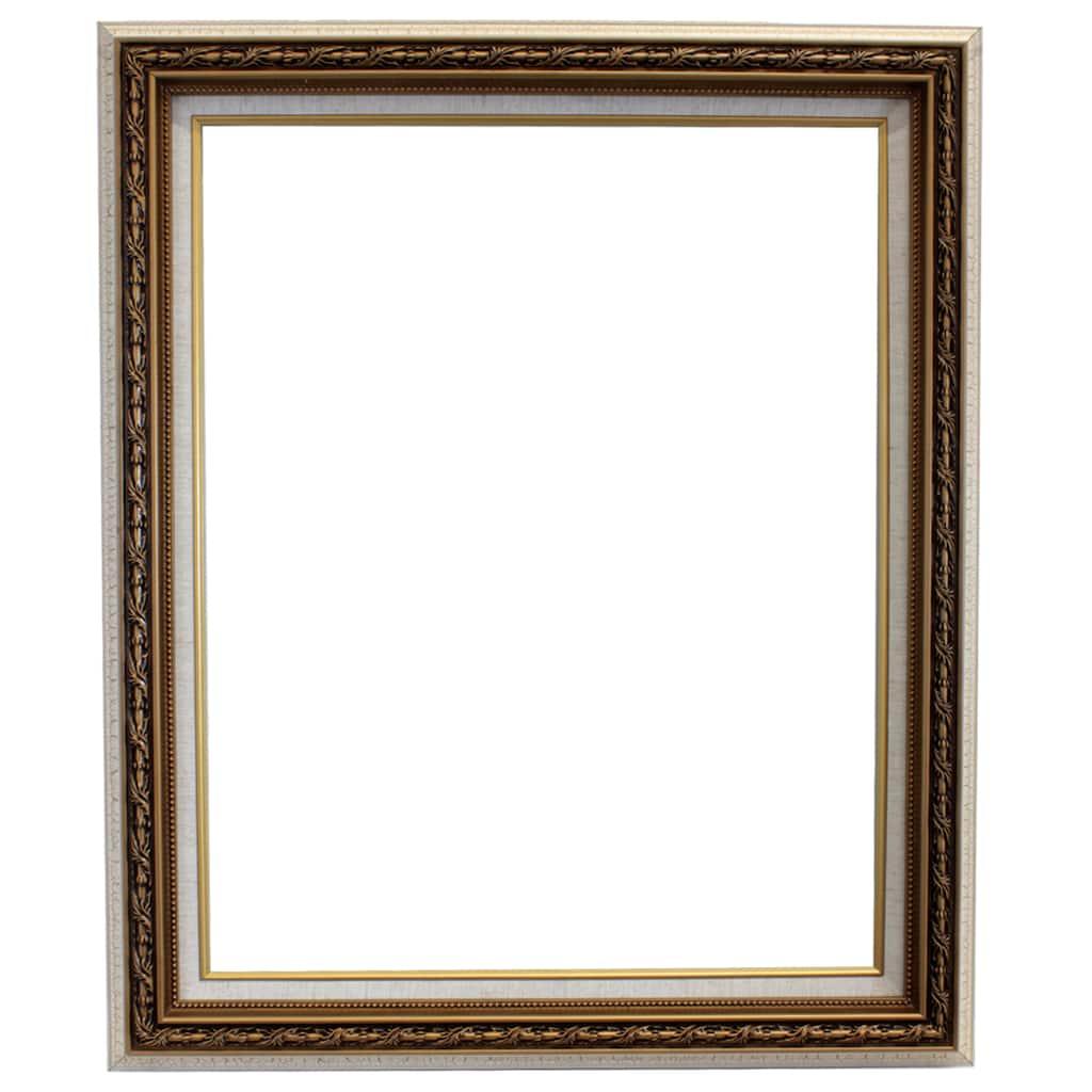 shop for the white crackle open back frame 16 x 20 by studio d cor at michaels. Black Bedroom Furniture Sets. Home Design Ideas