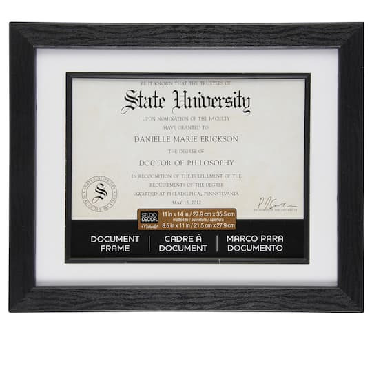Black Document Frame, 11\
