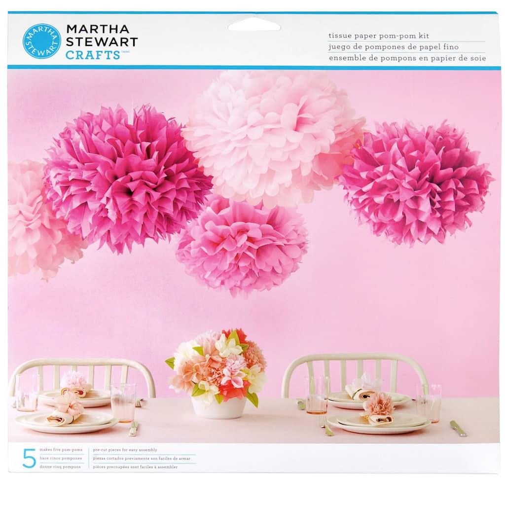 Martha Stewart Crafts Pom Pom Kit 5 Pieces