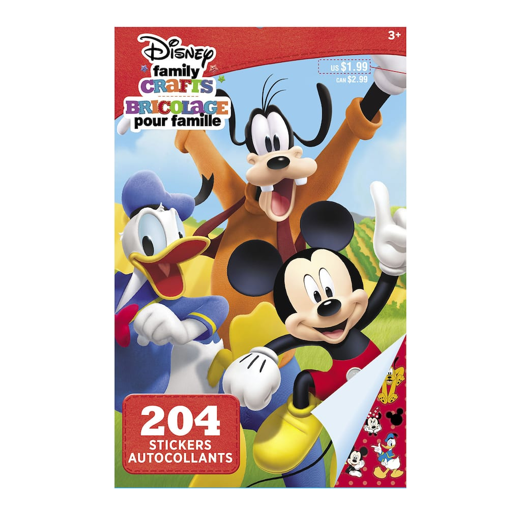 Find the ©Disney Family Crafts Sticker Book, Mickey Mouse ... - photo#38
