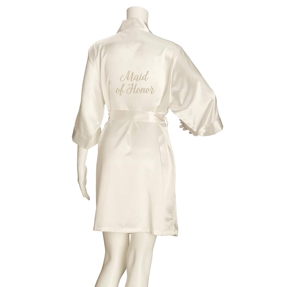 Blush Small//Medium//Large//Extra Large Lillian Rose Satin Maid of Honor Robe