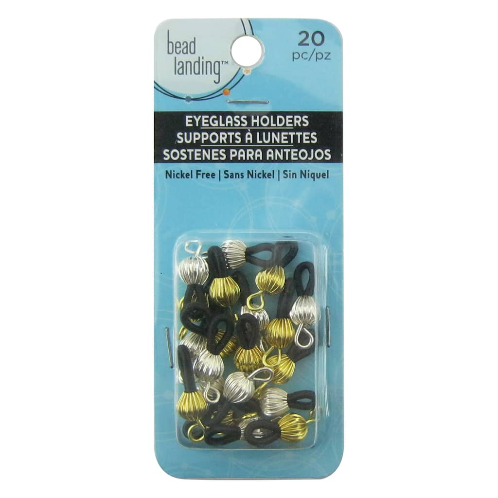 8b5f34841793 Find the Gold   Silver Eyeglass Holders by Bead Landing© at Michaels