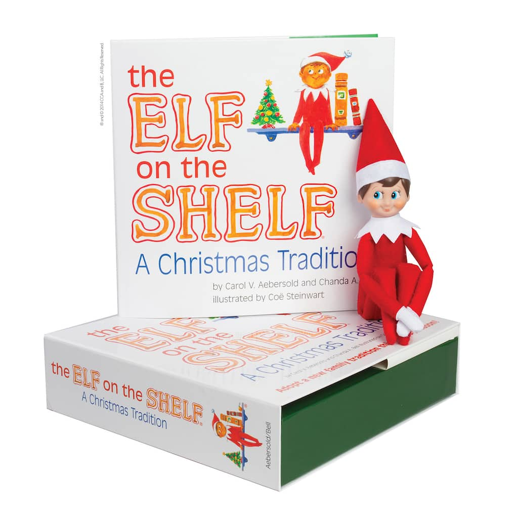 Find The Elf on the Shelf® A Christmas Tradition, Light Skin Boy ...
