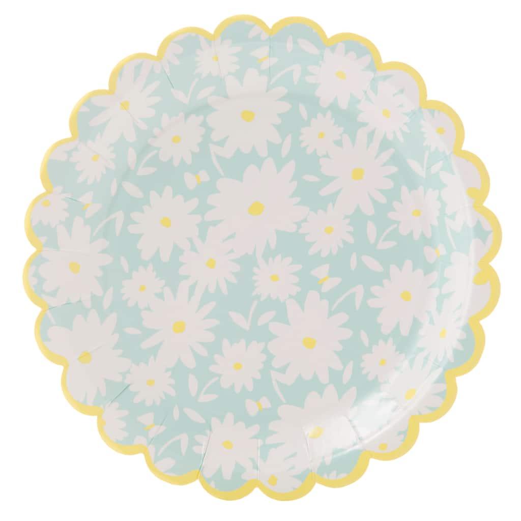 7 5 Martha Stewart Meyer Lemon Paper Plates 10ct