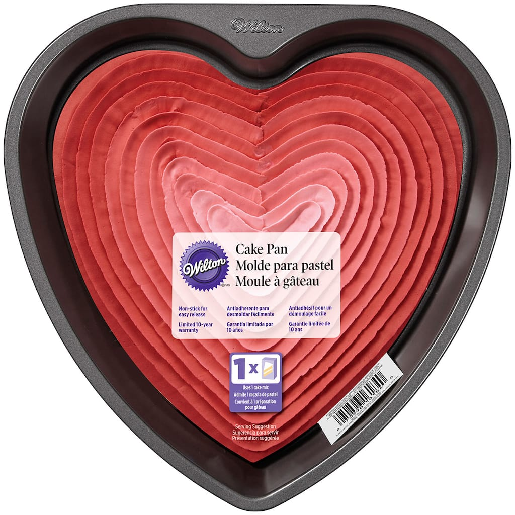 Wilton 174 Heart Cake Pan