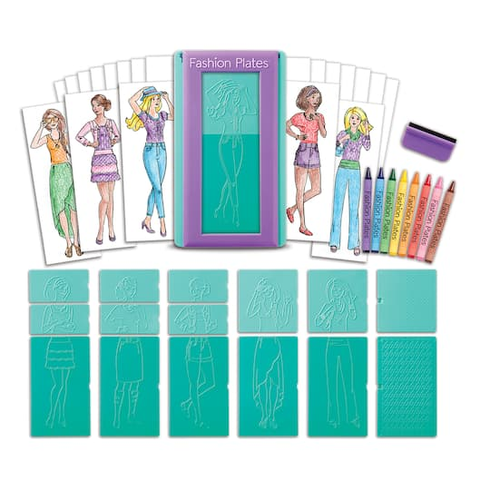 Buy The Fashion Plates Design Set At Michaels
