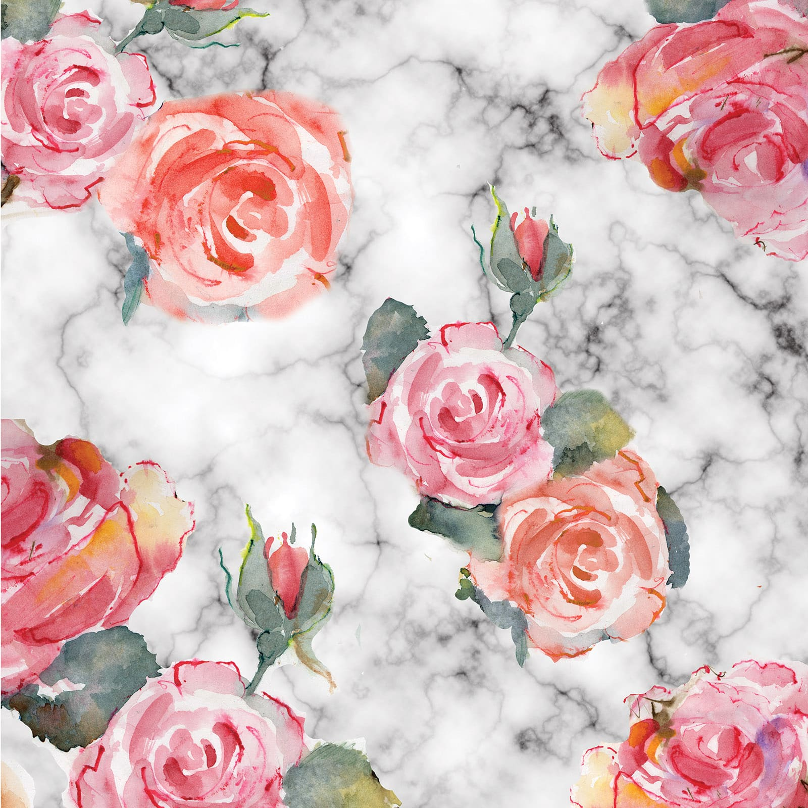 Recollections Pink Patterned Flowers