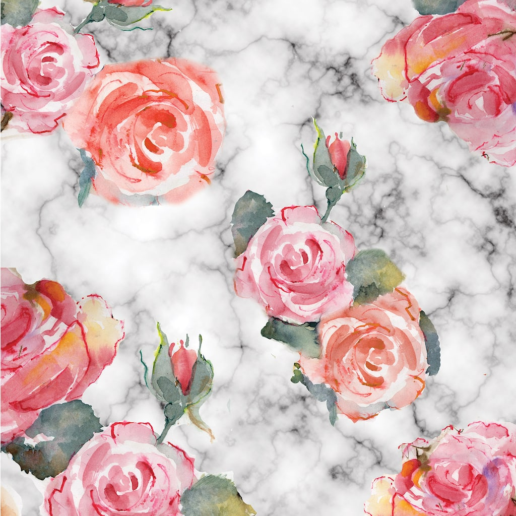 Buy The Floral Marble Scrapbook Paper By Recollections At Michaels