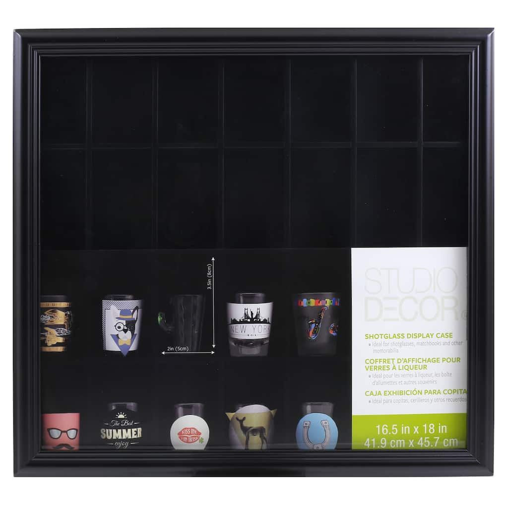 discount home decor catalogs design idea and decors.htm shop for the shot glass display case by studio d  cor   at michaels  shop for the shot glass display case by