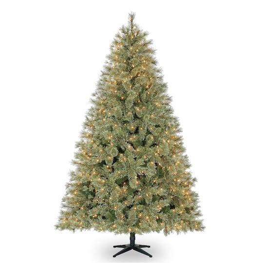 Ashland Christmas Trees.7 5ft Pre Lit Quick Set Jasper Artificial Christmas Tree Clear Lights By Ashland