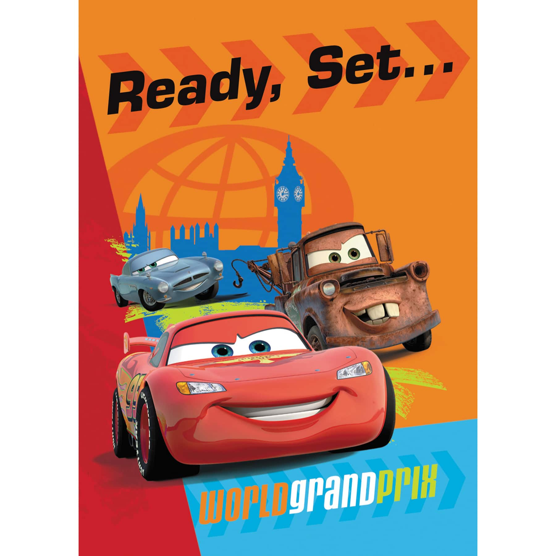 Disney Cars Party Invitations Supplies