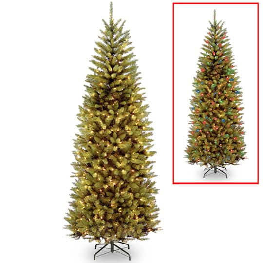 Buy The 75 Ft Pre Lit Powerconnect Kingswood Fir Slim Artificial