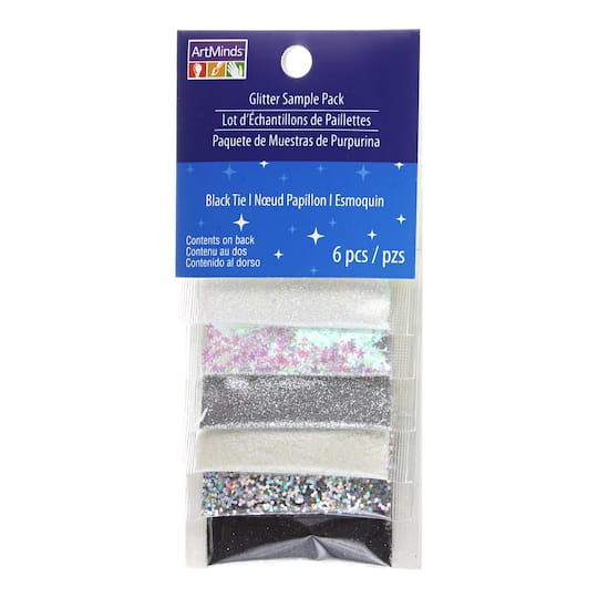 Black Tie Glitter Sample Pack by ArtMinds®