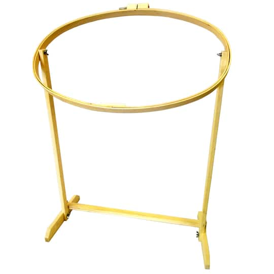 Frank A Edmunds Oval Hoop with Stand 5590