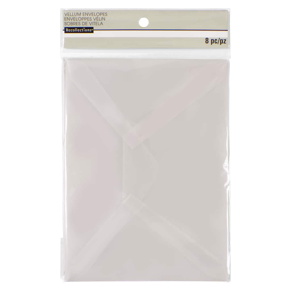 buy the a7 vellum envelopes by recollections at michaels