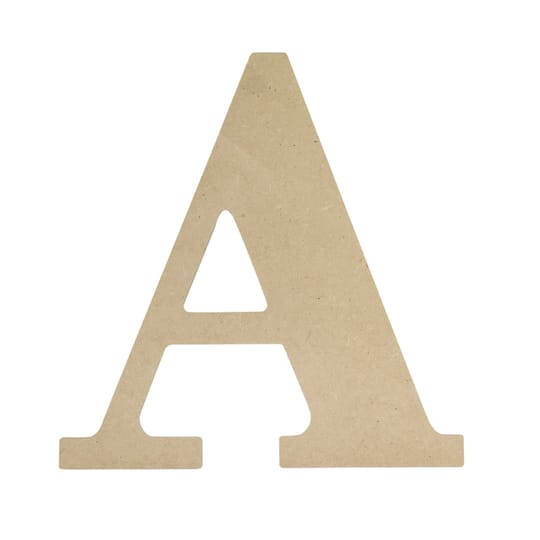 Classic Wood Letter By ArtMinds®, 8