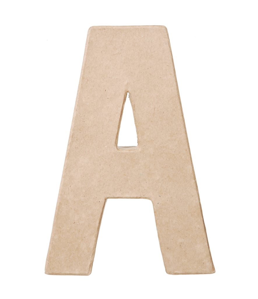 Paper Mache Letter By ArtMinds®, 8