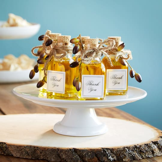 Wedding Favor Olive Oil Jar