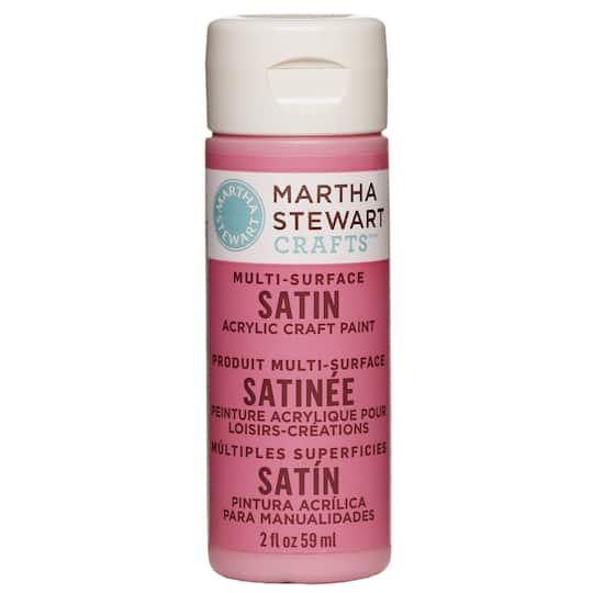 Martha Stewart Crafts Multi Surface Satin Acrylic Craft Paint 2oz