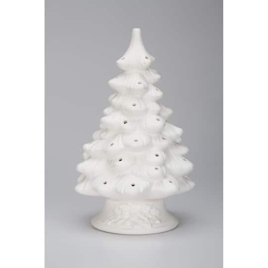 Diy Ceramic Christmas Tree Unfinished Tree Base 11 5 Inches