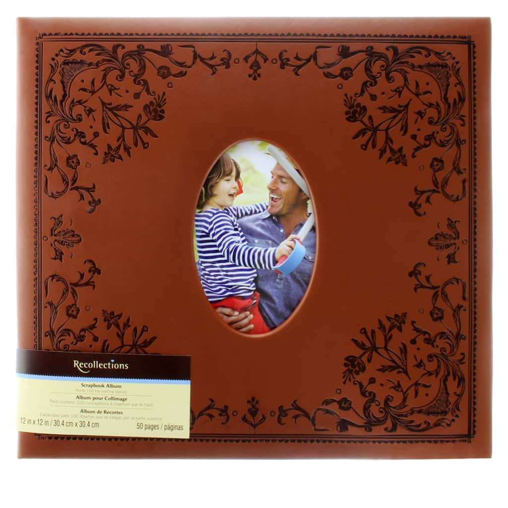 Buy The Brown Mega Scrapbook Album By Recollections At Michaels