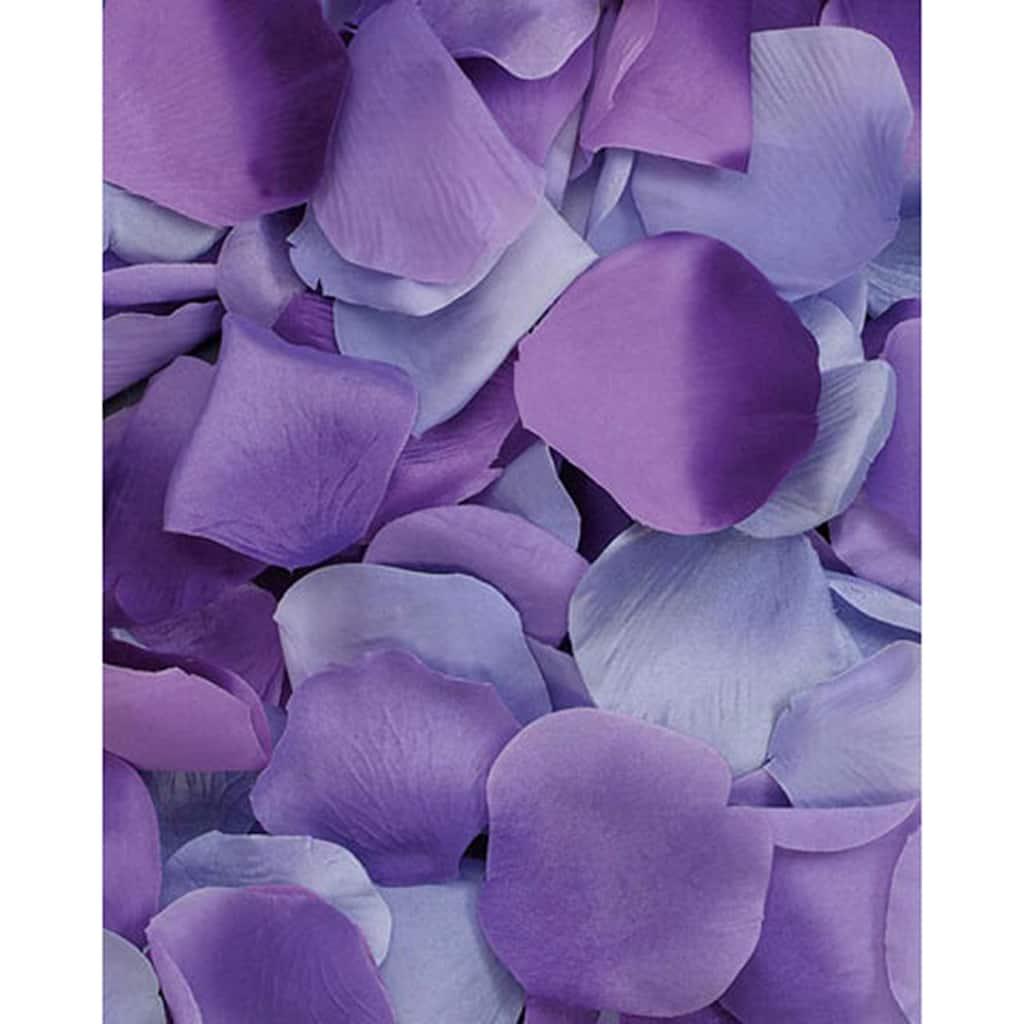 Victoria Lynn 100 Loose Satin Rose Petals Purple