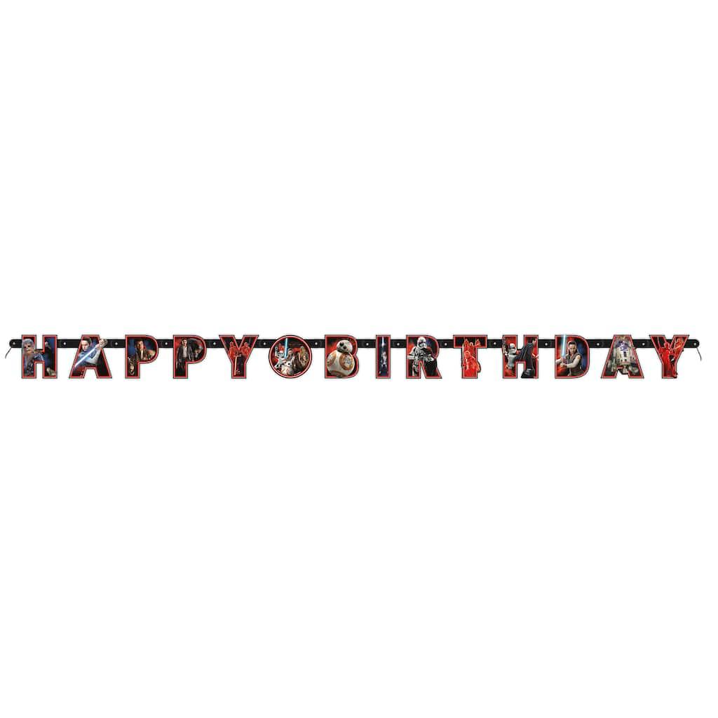 Star Wars Birthday Party Banner