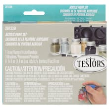 Testors® Aircraft Finishing Enamel Paint Set