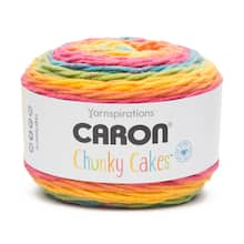 Buy The Caron Chunky Cakes Yarn At Michaels