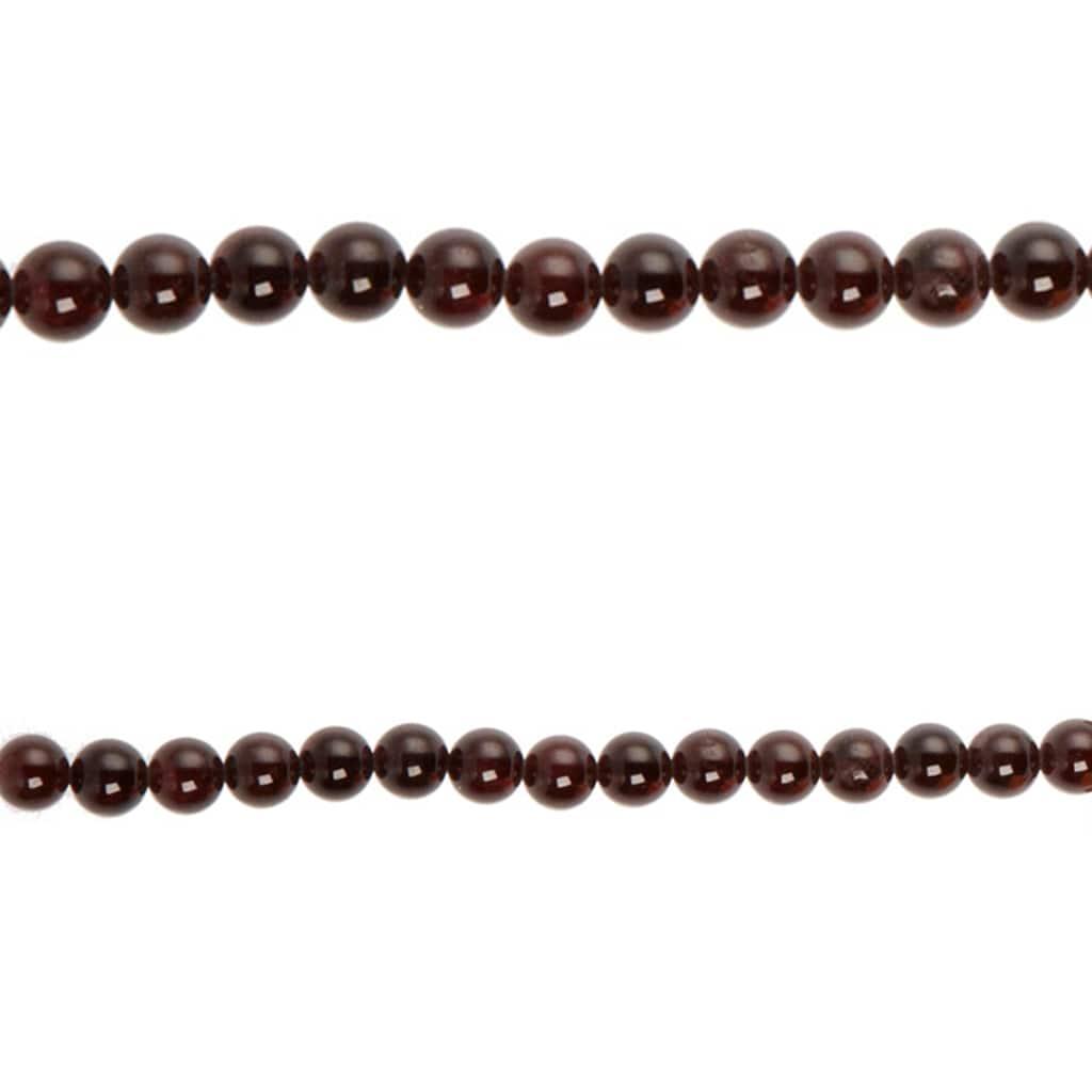 Bead Gallery® Garnet Round Beads, Ruby