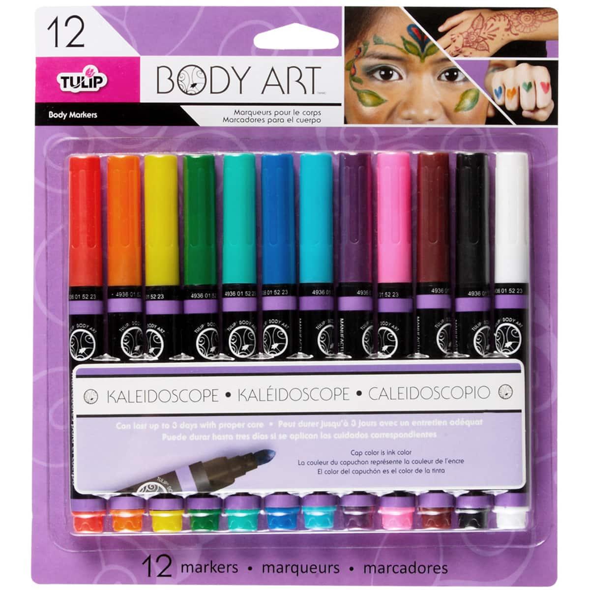 Long Lasting Body Art Markers