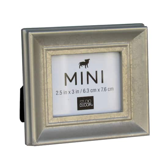 daf1dc1f2dbf Shop for the Silver Leaf Traditional Mini Frame by Studio Décor® at Michaels