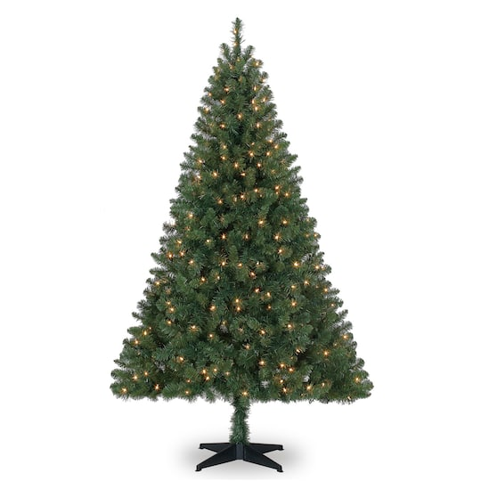 Michaels Christmas Trees.6ft Pre Lit Windham Spruce Artificial Christmas Tree Clear Lights By Ashland