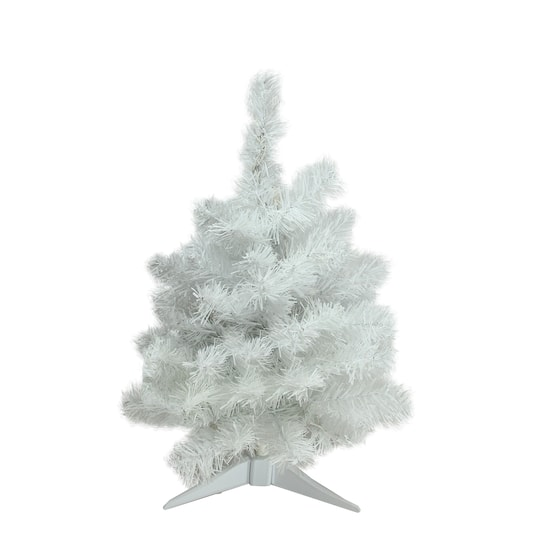 28529_25645237_1.jpg?fit=inside|540:540 - 2 Ft. Pre-Lit Snow White Artificial Christmas Tree, Multicolor Lights