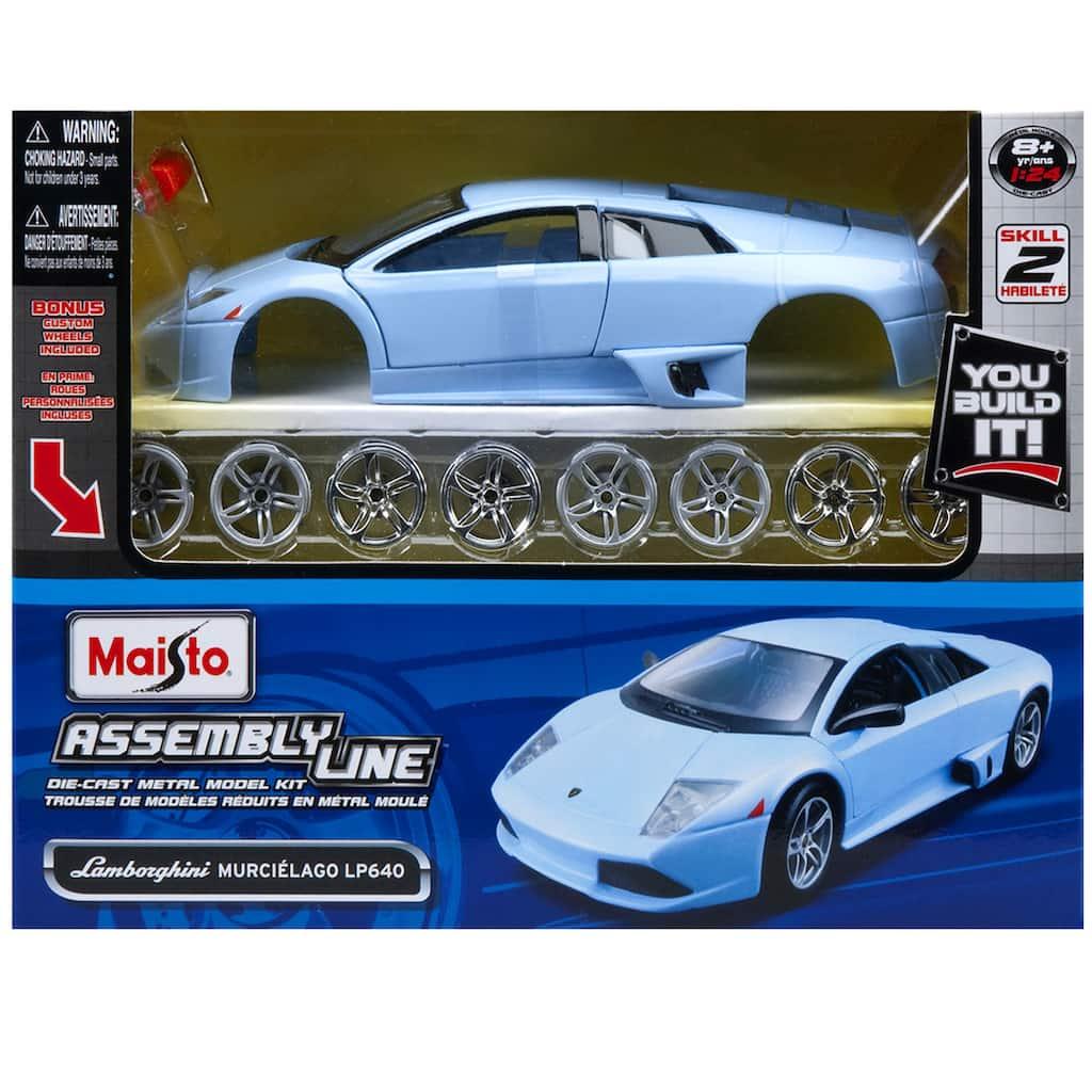 Lamborghini Murcielago LP640 Assembly Line 1:24 Childs Kids Dads Birthday Gift