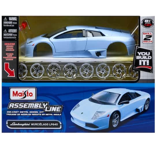 New Lamborghini Murcielago Promotion Shop For Promotional: Maisto® Metal Model Kit, Lamborghini® Murcielago LP640
