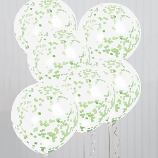 Lime,Green Confetti Balloon Red Decorations Birthday Balloon Green Decorations Red Watermelon Balloons Green Confetti Balloons Shower