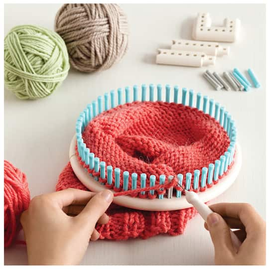 Martha Stewart Crafts Knit Weave Loom Kit