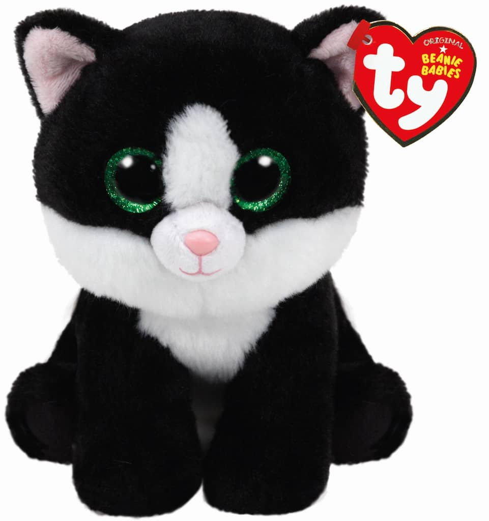 73800c133ed Buy the Ty Original Beanie Babies® Black   White Ava Cat