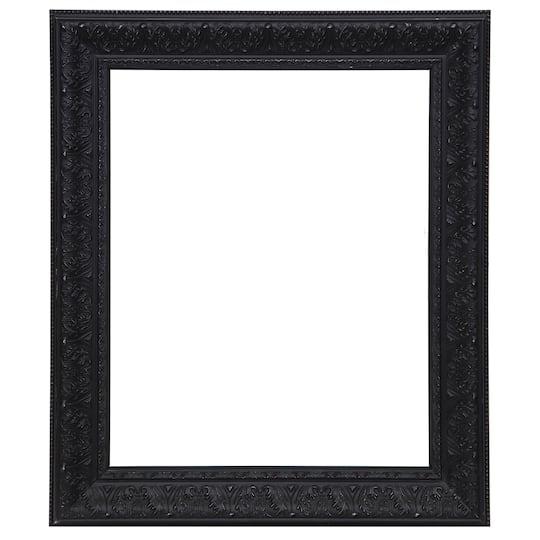 Shop for the Wide Black Washed Open Back Frame, 16\