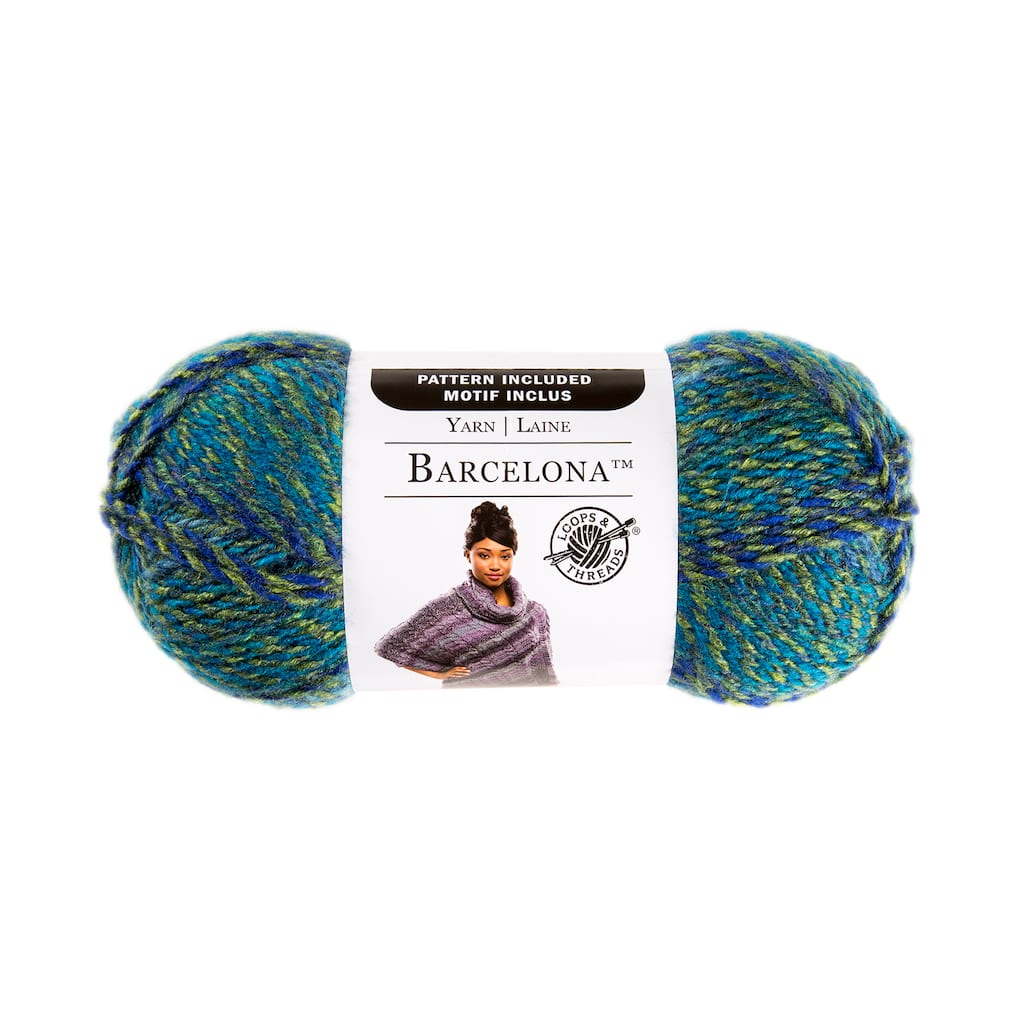 Barcelona Yarn By Loops & Threads Poolside