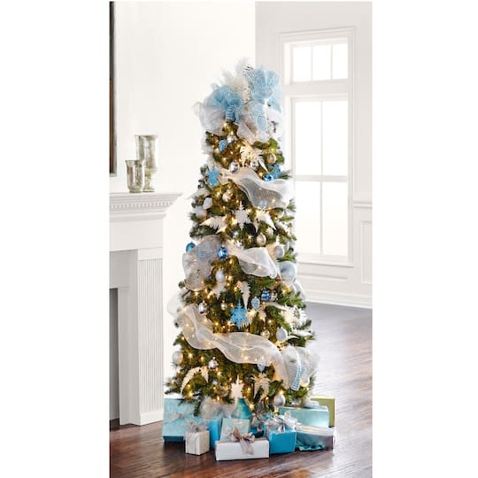 pre lit willow pine artificial christmas tree clear lights by ashland - Michaels Christmas Trees Pre Lit