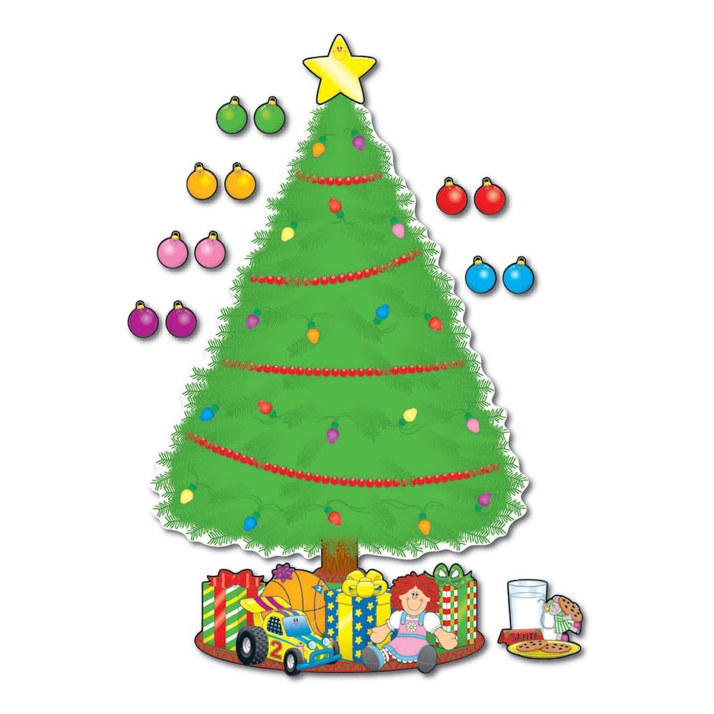 Christmas Tree Facebook Cover Photo: Big Christmas Tree Bulletin Board Set
