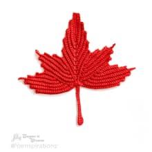Bernat® Handicrafter® Maple Leaf Crochet Dishcloth, medium