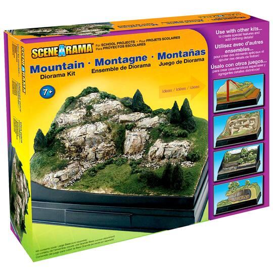 Scene-A-Rama® Mountain Diorama Kit
